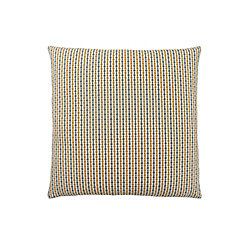 Monarch Specialties 18-inch x 18-inch Gold Grey Abstract Dot Pillow