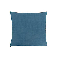 Monarch Specialties 18-inch x 18-inch Patterned Blue Pillow