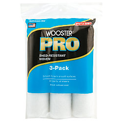 Pro 9.5-inch x 3/8-inch (240mm x 10mm) Woven Roller Cover (3-Pack)