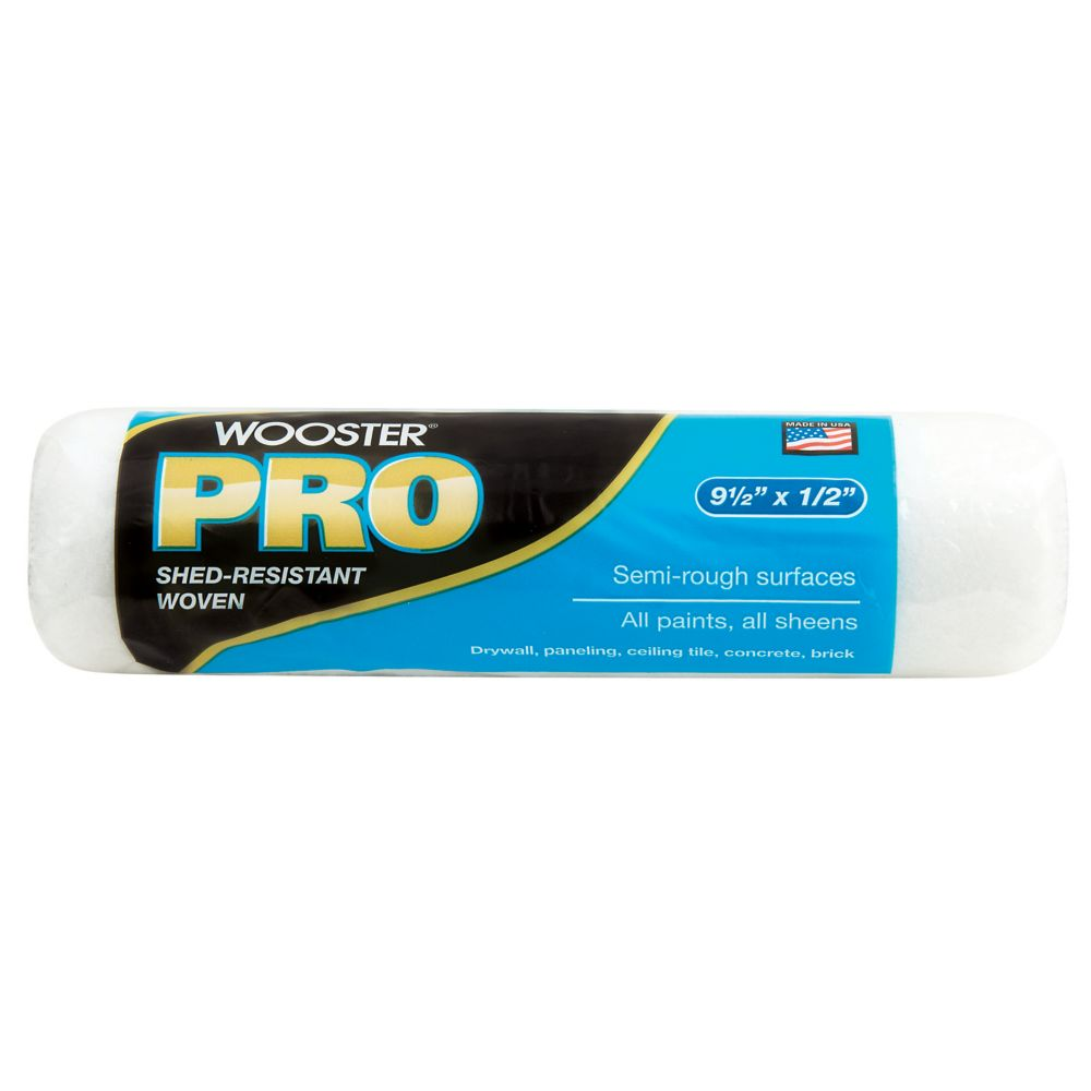 9-1/2 in. x 1/2 in. (240mm x 15mm) Wooster Pro Woven Roller Cover