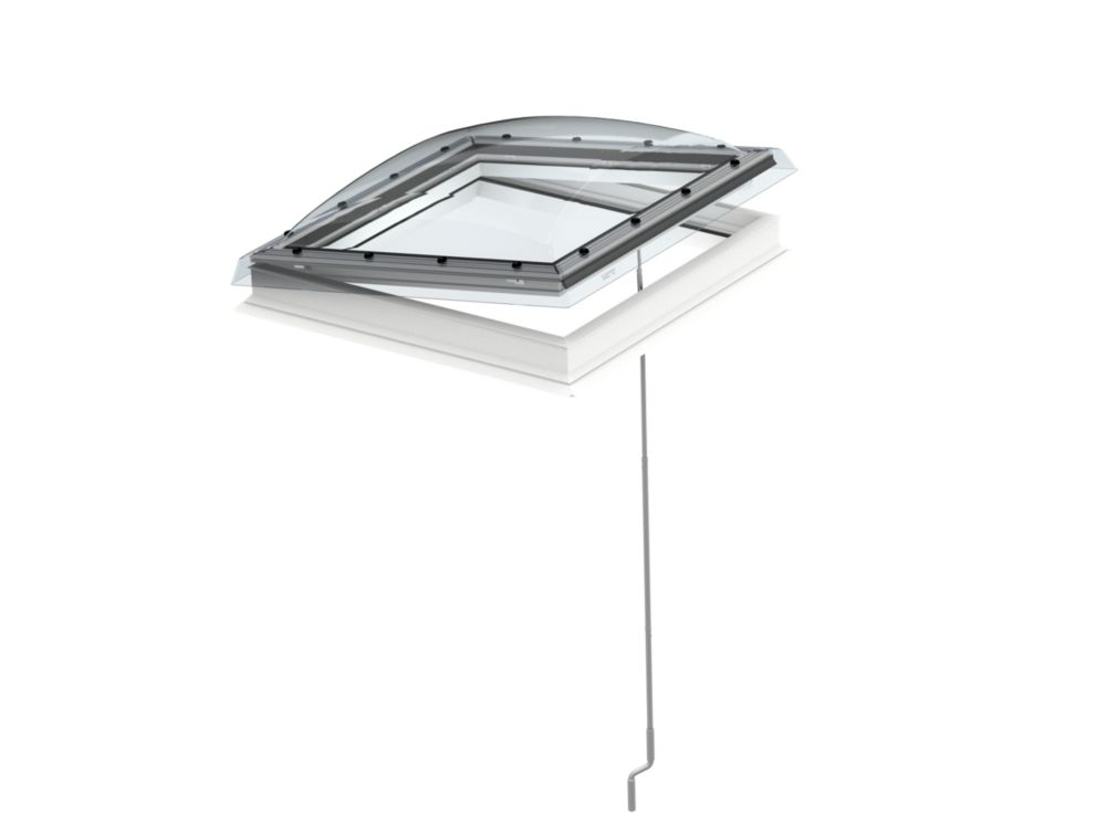 Velux Flat Roof Manual Venting Skylight For Rough Opening