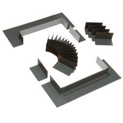 VELUX Système de solin à gradin pour fenêtres de toit avec cadre intégré - taille FK06
