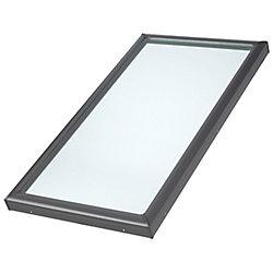 VELUX Store assombrissant manuel pour fenêtre de toit PK10 - Blanc  plissé double