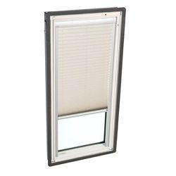 VELUX Store filtre-lumière manuel - Sable pour puits de lumière avec cadre intégré FS C04 - plissé simple
