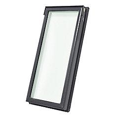 FS Puits de lumière fixe avec cadre intégré C04-cadre ext. 21 1/2 po x 38 3/8 po-verre trempé LoE3