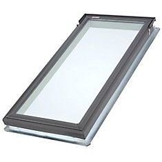 FS- Fixed Deck Mount Skylight size C06 - outside frame 21 1/2 inch x 46 1/4 inch- Energy Plus Laminated LoE3 glass - ENERGY STAR ®
