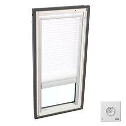VELUX Store filtre-lumière à énergie solaire  plissé simple Blanc- pour FS D26