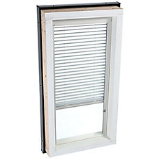 White- Manual Venetian Blinds for Fixed Curb Mount Skylight - FCM 2246