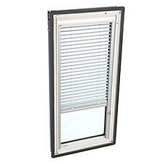 White- Manual Venetian Blinds for Fixed Deck Mount -FS C04