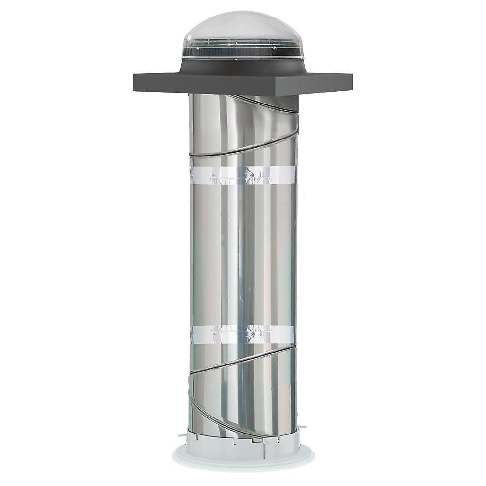 TCR 014 - Tunnel de lumière rigide - Solin à monter sur cadre - diamètre 14 po