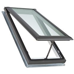 VELUX VS - Manual Venting Deck Mount Skylight size C04 - outside frame 21 1/2 inch x 38 3/8 inch- Energy Plus Laminated LoE3