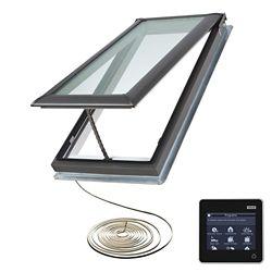 VELUX VSE Puits électrique avec cadre intégré C06-cadre ext. 21 1/2 po x 46 1/4 po-vitrage ÉnergiePlus