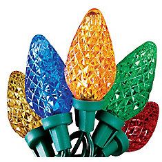Led C9 25L Multi Color Super Bright