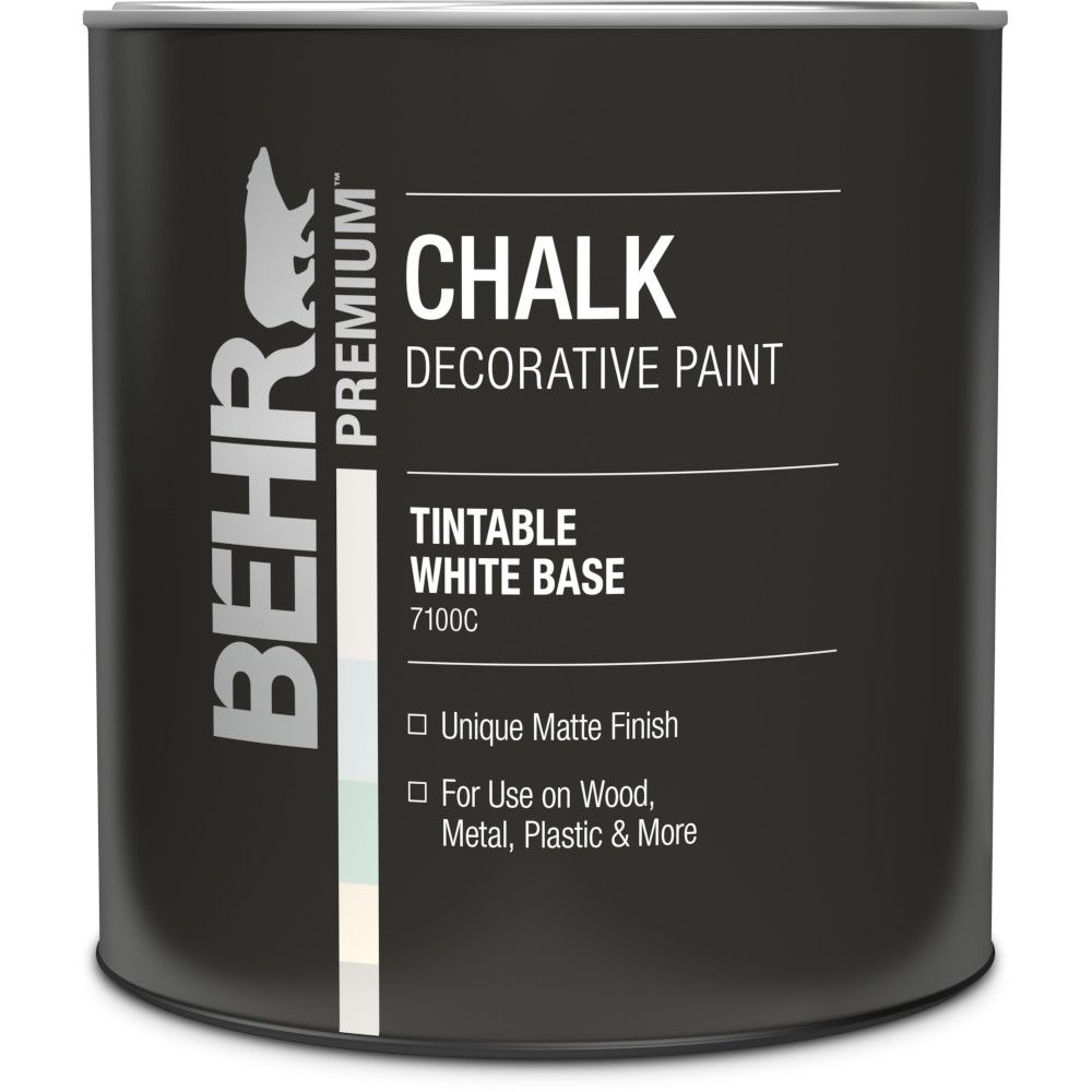 Behr Chalk White Base Decorative Paint