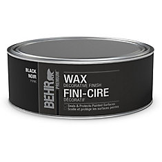 Decorative Black Finish Wax for Chalk Paint