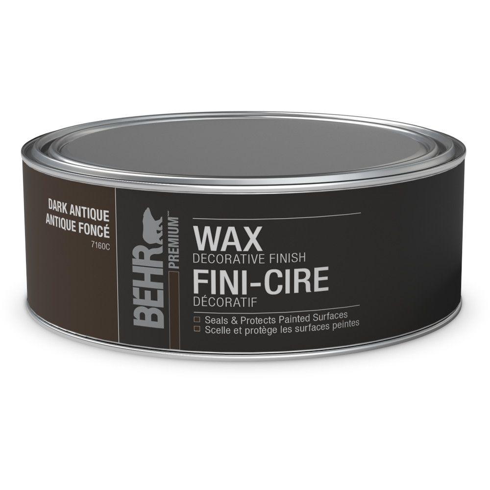 Decorative Dark Finish Wax for Chalk Paint