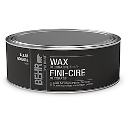 BEHR Decorative Clear Finish Wax for Chalk Paint