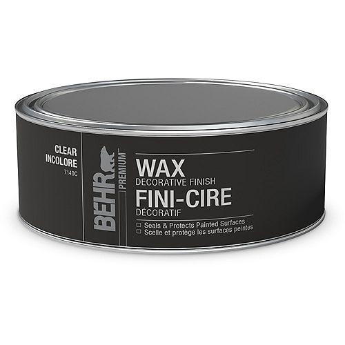BEHR Wax Decorative Finish - Clear, 227 g