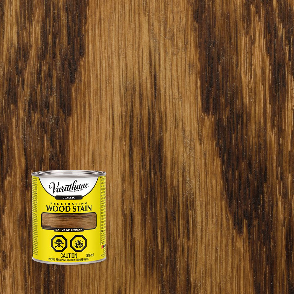 Varathane Classic Penetrating Wood Stain Early American 946ml