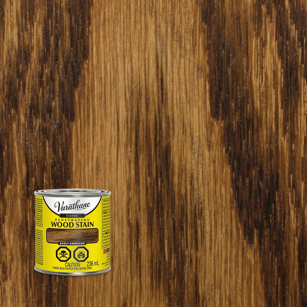 Varathane Classic Penetrating Wood Stain Early American 236ml