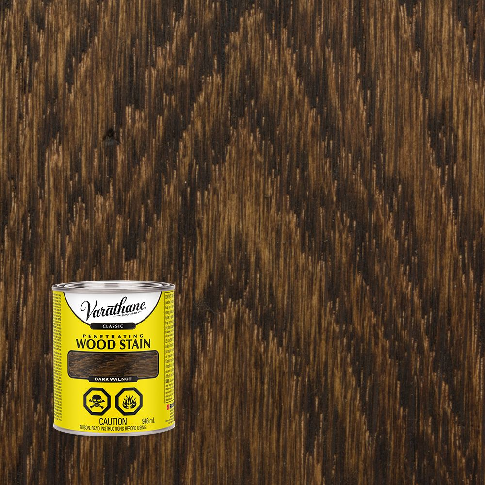 Varathane Classic 946mL Dark Walnut Penetrating Wood Stain