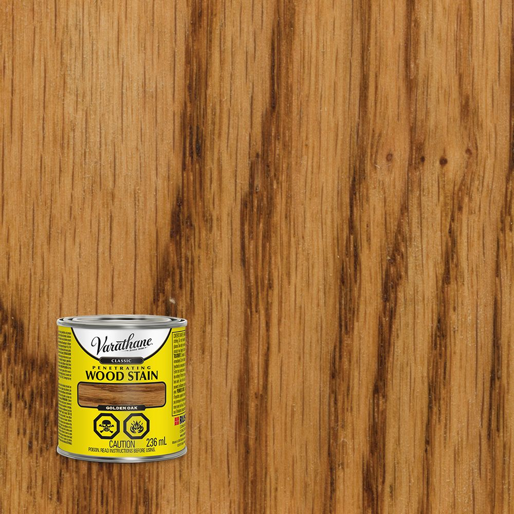 Varathane Classic Penetrating Wood Stain Golden Oak 236ml