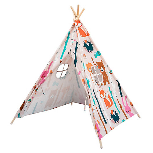 47.3-inch x 47.3-inch Kids Indoor Play Tent (Assorted Styles)