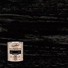 Varathane Stain & Polyurethane Satin Classic Black 946ml