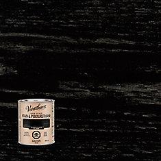 Varathane Stain & Polyurethane Gloss Classic Black 946ml