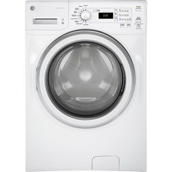 GE ENERGY STAR, 4.8 IEC capacity stainless steel drum frontload washer - ENERGY STAR®
