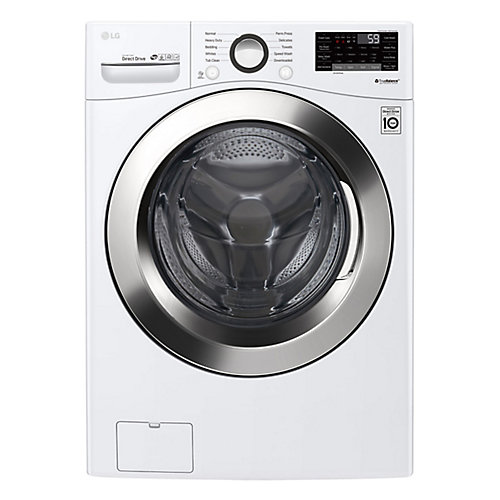 5.2 cu. ft. Front Load Washer with Ultra Large Capacity Washer and 6Motion Technology and White - ENERGY STAR®
