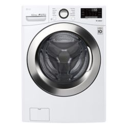 LG Electronics 5.2 cu. ft. Front Load Washer with Ultra Large Capacity Washer and 6Motion Technology and White - ENERGY STAR®