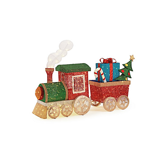 48-inch and 38-inch LED Train Set