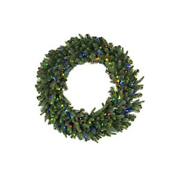 Home Accents Holiday 30-inch 500-Light Multi-Colour LED Twinkle Christmas Wreath