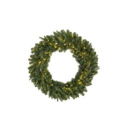 Home Accents Holiday 30-inch 500-Light Warm White LED Twinkle Christmas Wreath