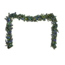 Home Accents Holiday 9 ft. 500-Light Multi-Colour LED Twinkle Christmas Garland