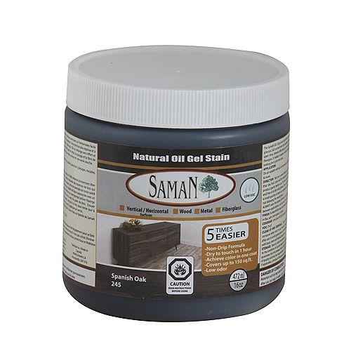 SamaN Gel Stain Spanish Oak 472ml