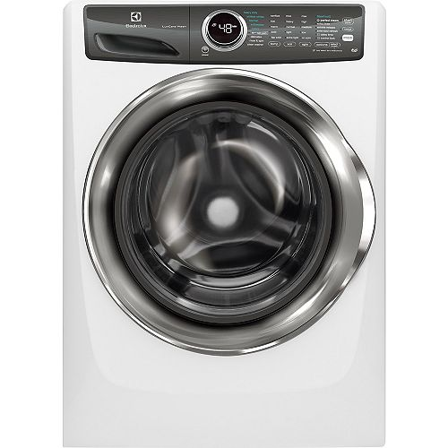 Electrolux 5.0 cu. ft. Front Load Washer with Steam in White - ENERGY STAR®