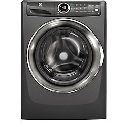 Electrolux 5.0 cu. ft. Front Load Washer with Steam in Titanium - ENERGY STAR®