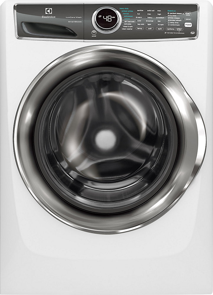 4.4 cu. ft. Front Load Washer with SmartBoost Technology Steam in White - ENERGY STAR®