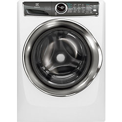Electrolux 5.1 cu. ft. Front Load Washer with SmartBoost Technology Steam in White - ENERGY STAR®