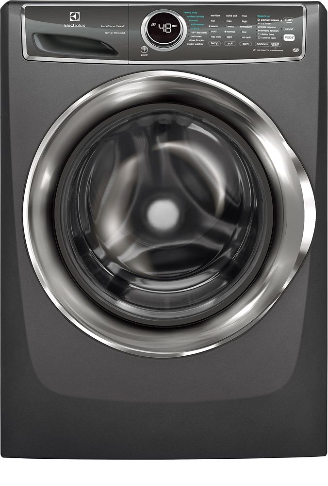 5.1 cu. ft. Front Load Washer with SmartBoost Technology Steam in Titanium - ENERGY STAR®