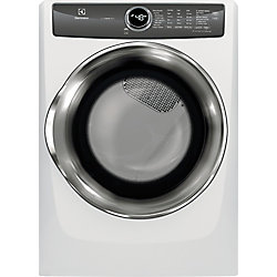 8.0 cu. ft. Front Load Gas Dryer with Instant Refresh in White - ENERGY STAR®