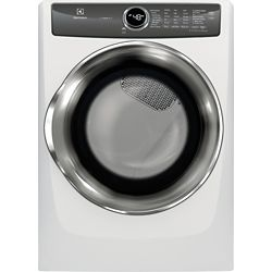 Electrolux 8.0 cu. ft. Front Load Gas Dryer with Instant Refresh in White