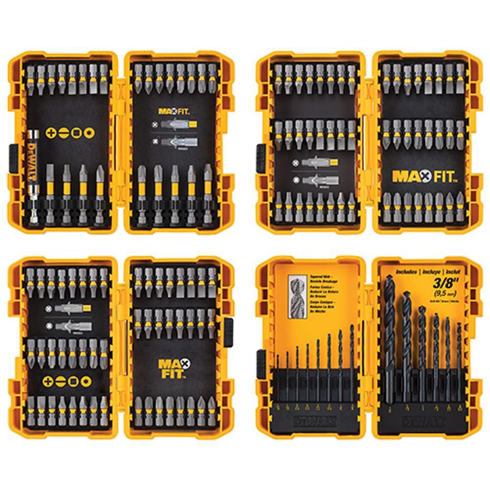 DEWALT MAXFIT Screwdriving and Drill Bit Set (136-Piece)