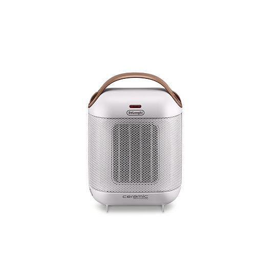 DeLonghi Capsule Ceramic Heater White