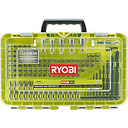 RYOBI Black Oxide Drill and Drive Kit (120-Piece)