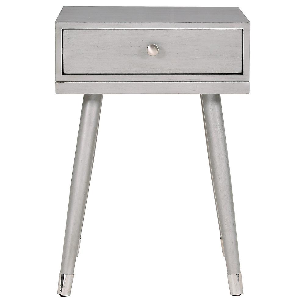 Elba Accent Table-Grey