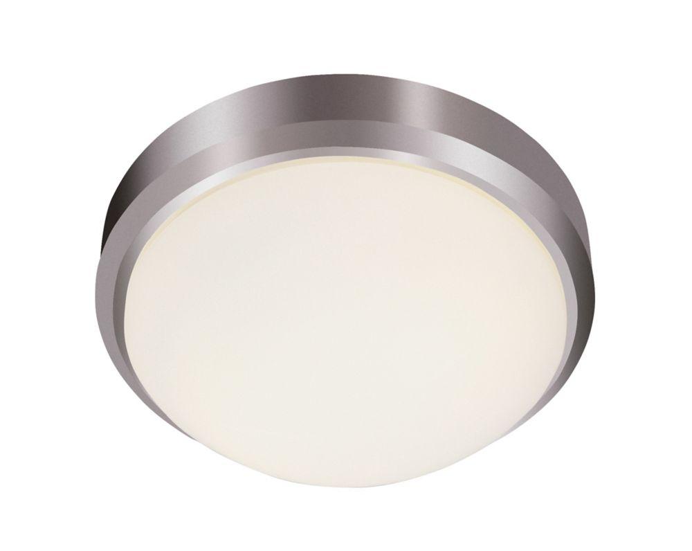 Bel Air Lighting Bliss 2-Light Brushed Nickel Flushmount