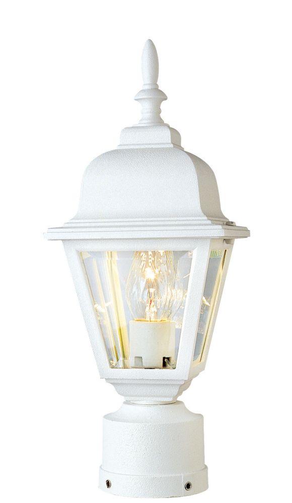 Lanterne Avec Argyle Post En Mount 1 Lumière Blanc QWoErCxBde